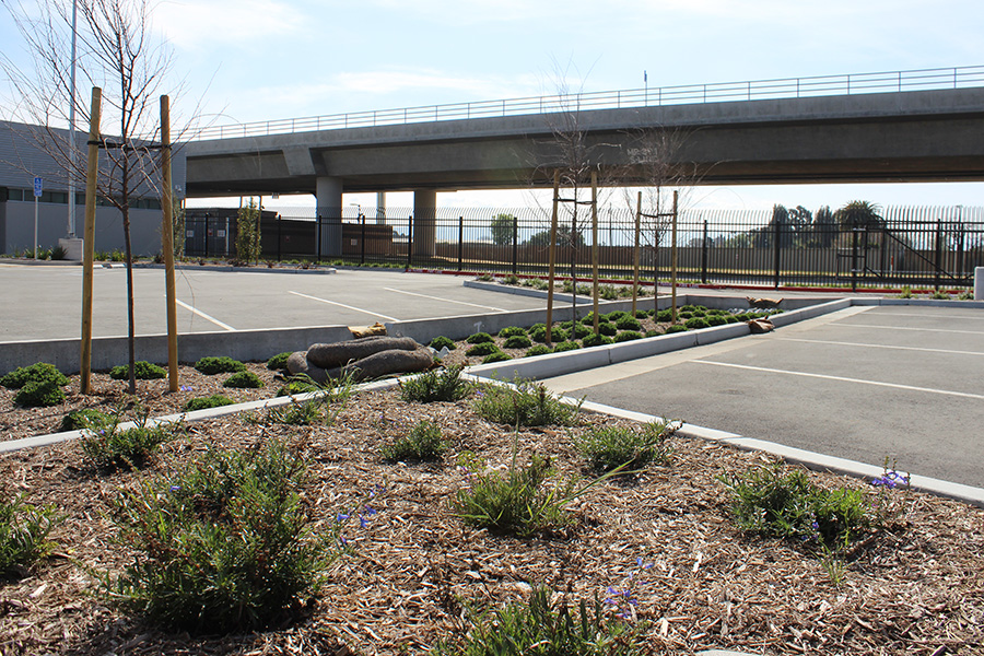 BART phase1 parking lot with Stormwater mitigation