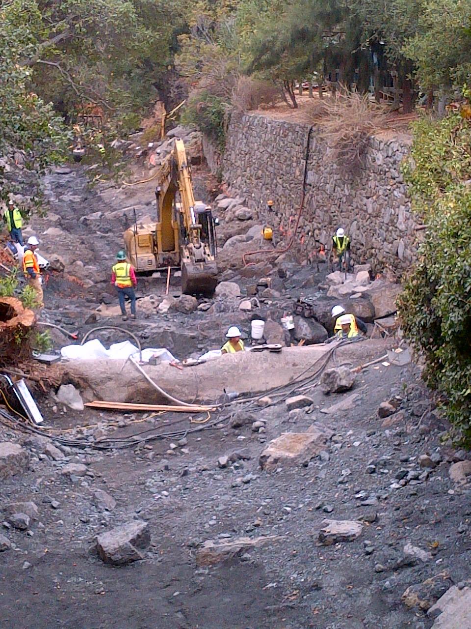 Alum Rock construction